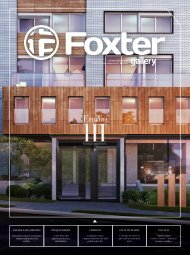 Revista Foxter Gallery #18
