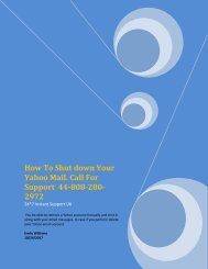 How To Shut down Your Yahoo Mail 44-808-280-2972