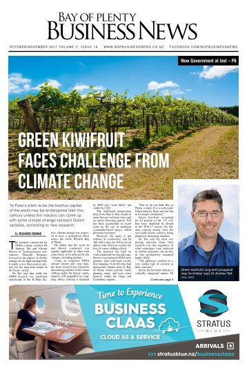 Bay of Plenty Business News October/November 2017