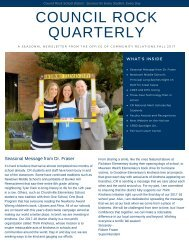 CR Quarterly Newsletter - Fall