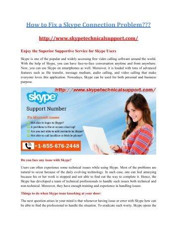 Skype Customer Service +1-855-676-2448| Skype Support Number