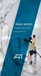 Flyer New and Selected Titles 2017/18 Park Books