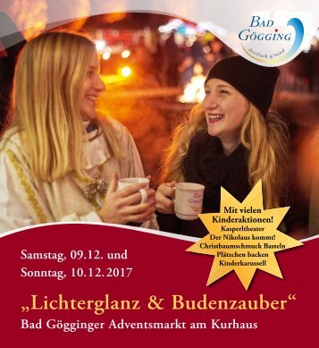 Programm Adventsmarkt 2017