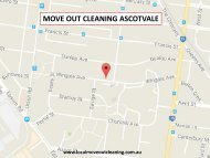 Move Out Cleaning Ascotvale