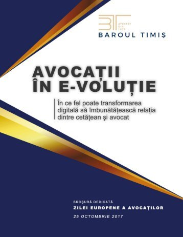 Avocatii in E-volutie