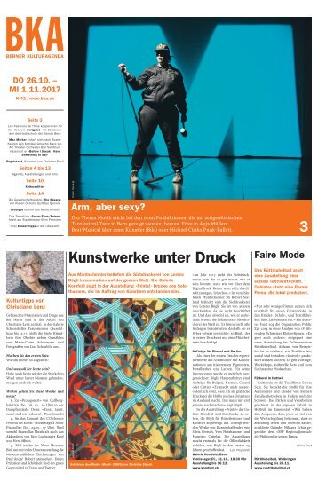 Berner Kulturagenda 2017 N° 42
