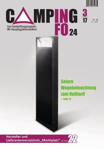 campinginfo24-Das Magazin 3/2017