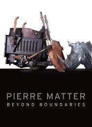 Catalogue Pierre Matter - Beyond Boundaries