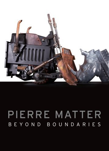 Catalogue Pierre Matter - Beyond Boundaries