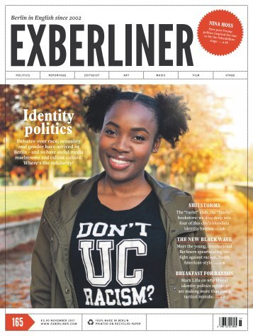 EXBERLINER Issue 165, November 2017
