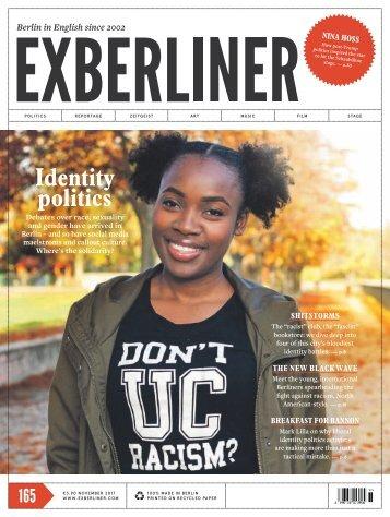 EXBERLINER Issue 165, November 2017