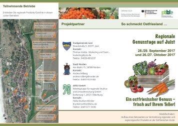 Faltblatt_Regionale Genusstage