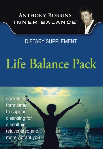 Life-Balance-Booklet by Antony robbins