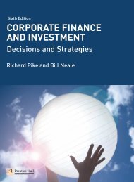Corporate Finance and Investment- Decisions and Strategies