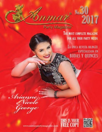 Anmar Party Magazine 30th  Summer 2017 Edition