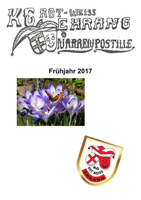 Narrenpost Frühjahr 2017