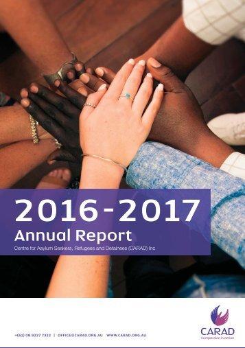 2017 CARAD Annual Report