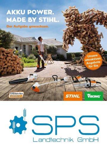 Herbstprospekt Stihl Viking 2017 mit Gutschein SPS