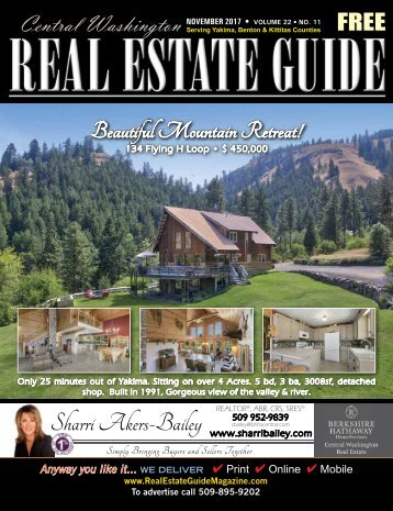 Central Washington Real Estate Guide Nov 17