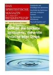 Das Spiritistische Magazin 1