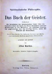 Das Buch der Geister