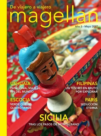 Revista de viajes Magellan - Mayo 2017