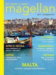 Revista de viajes Magellan - Julio/Agosto 2017