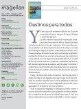 Revista de viajes Magellan - Julio/Agosto 2017 - Page 2