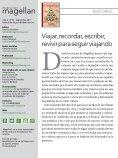 Revista de viajes Magellan - Septiembre 2017 - Page 2
