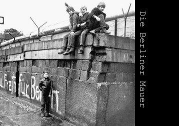 Crashkurs Berliner Mauer