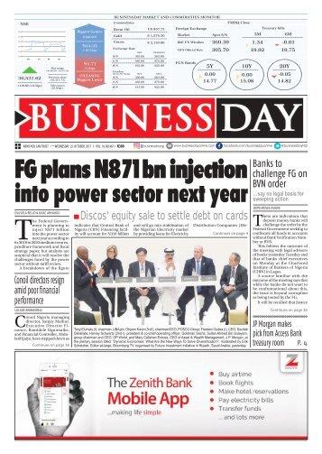 BusinessDay 25 Oct 2017