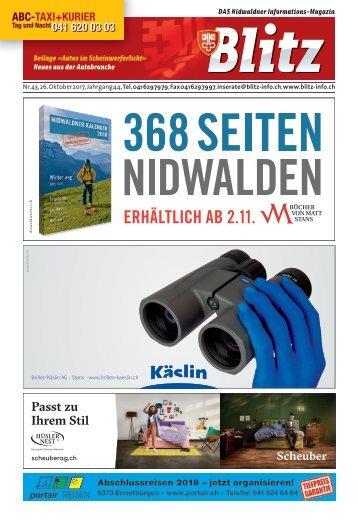 NW Blitz KW43 / 26.10.17
