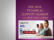 Aol mail support Help number +1-855-490-2999