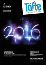 Töfte Regionsmagazin 12/2015