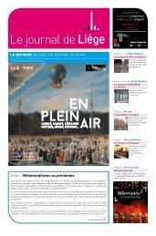 Votre Journal de Liège d'avril 2016