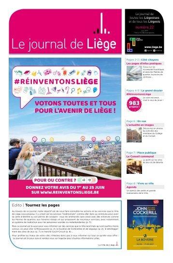 Votre Journal de Liège de juin 2017