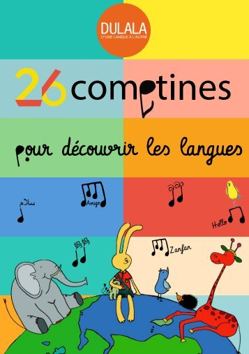 26 comptines pour découvrir les langues A feuilleter 24-10