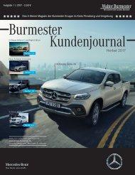 Burmester Kundenmagazin Herbst 2017