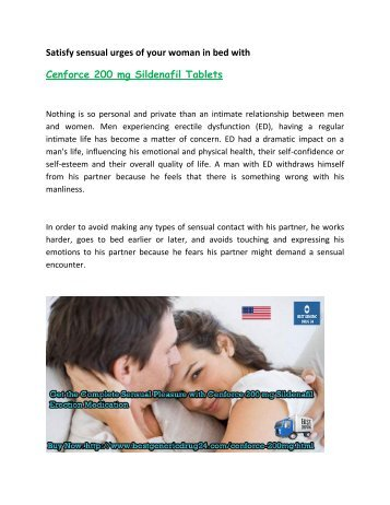 Buy Cenforce 200 or 150 mg Online Sildenafil Citrate Tablets in USA UK at BestGenericDrug24