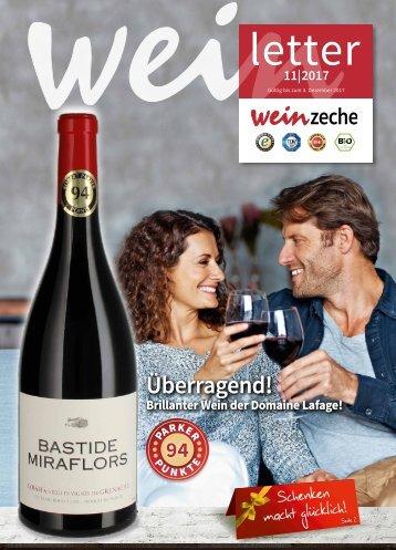 Weinzeche Letter 11_2017 – Die Kunst des Genießens