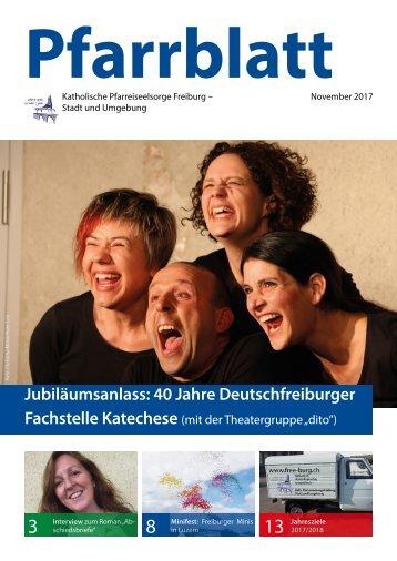 2017-11 Pfarrblatt Freiburg