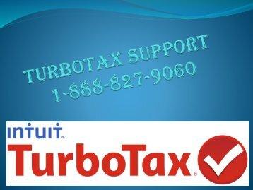 Turbotax Toll Free Number 1-888-827-9060