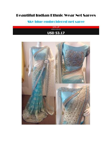 Beautiful_Indian_Ethnic_Wear_Net_Sarees