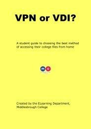 VPN or VDI?