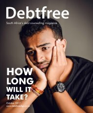 Debtfree Magazine October 2017
