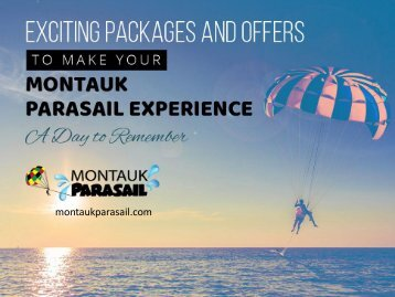 Parasailing and Boat Tours in Montauk