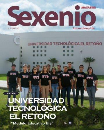 Sexenio Magazine Octubre