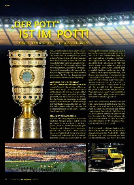 2017-02: TOP Magazin Dortmund | SOMMER