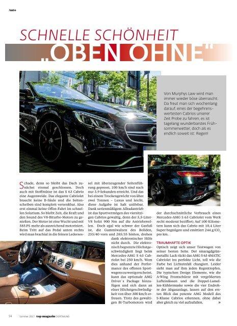 2017-02: TOP Magazin Dortmund   SOMMER