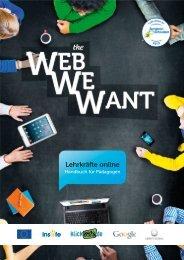 Web We Want – Handbuch für Pädagogen